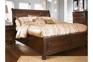 porter king bedroom set home decorating pictures ashley porter king bed