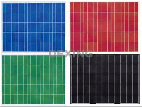 Solar Color solar panel powered 3 colors 25 unique solar panels ideas