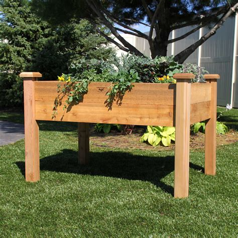 Elevated Garden Planter by Elevated Garden Box What Are Table Gardens Information