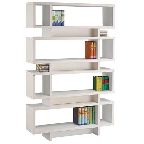 bookshelf marvellous modern white bookcase modern
