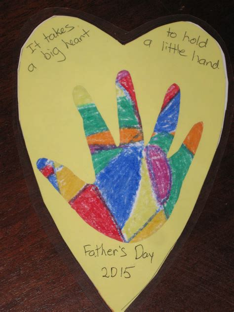 Fathers Day Paper Crafts - simple father s day craft pumpkins and me