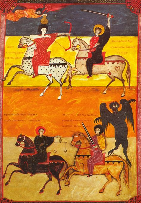 The Apocalypse Codex 2 the four horsemen of the apocalypse facundus beatus codex beatus of li 233 bana spain