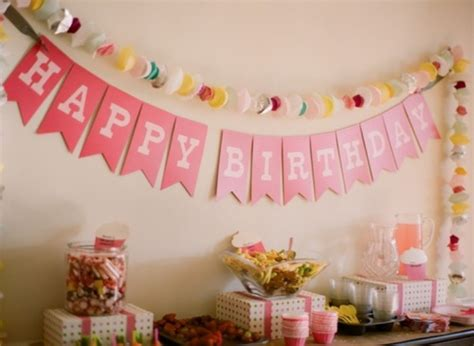 simple home decoration for birthday imgs for gt simple birthday decoration at home