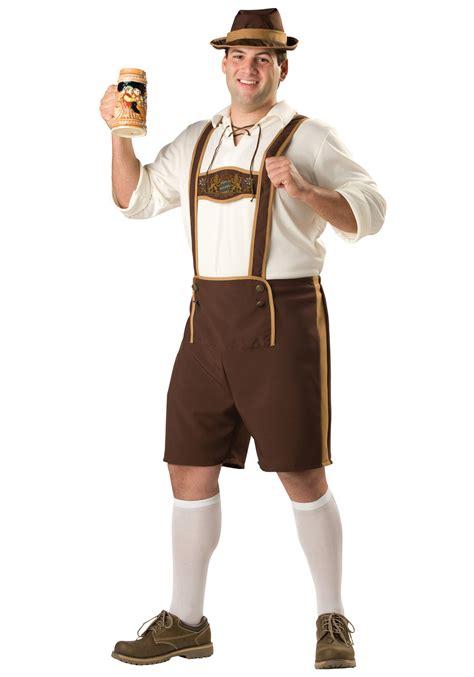 german clothing plus size bavarian guy costume