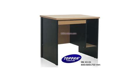 Meja Kantor Kecil meja komputer kecil mk 03 01 toppan