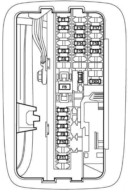 2005 dodge ram 2500 fuse box diagram wiring diagrams