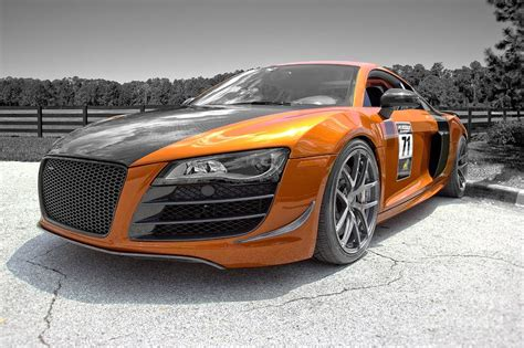 Audi A8 Custom by Audi A8 Custom Edited Photograph By Michael Friml