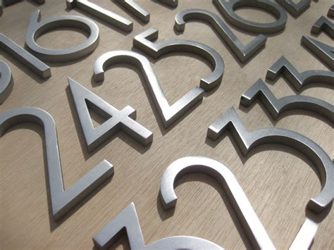 outdoor house numbers modern house numbers modern exterior phoenix by modern house numbers