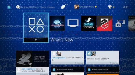ps4 themes redeem codes codes for free ps4 christmas theme being sent by sony