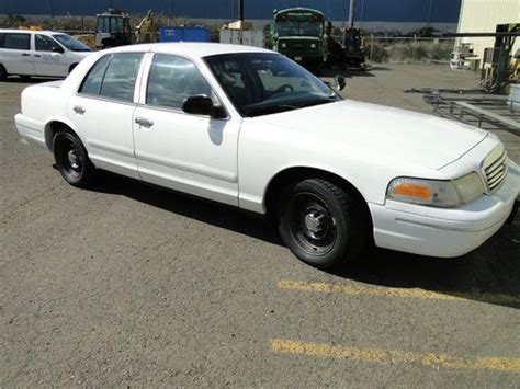 ford crown victoria 1998 used cars for sale purchase used 1998 ford crown victoria police interceptor white in salem oregon united states