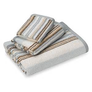 brown striped bath towels blue and brown bathroom towels
