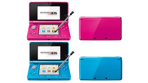 nintendo shows a new 3ds colour that is pink