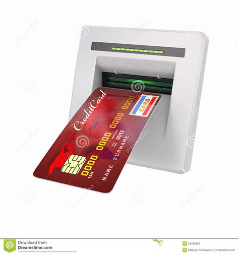 how to make a withdrawal from credit card money withdrawal atm and credit or debit card stock