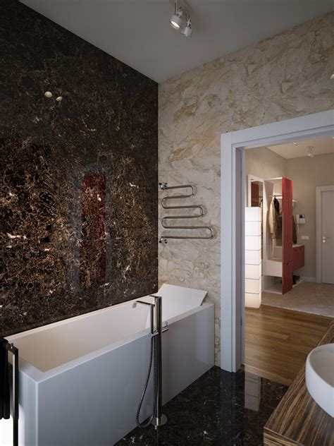 Brown Marble Bathroom Ideas Brown Marble Bathroom Walls Interior Design Ideas