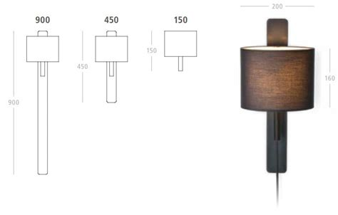 wandleuchte mit kabel steng wandleuchte mit schalter im kabel in zwei gr 246 223 en