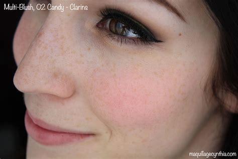 Clarins Blush 02 4g multi blush clarins maquillage cynthia