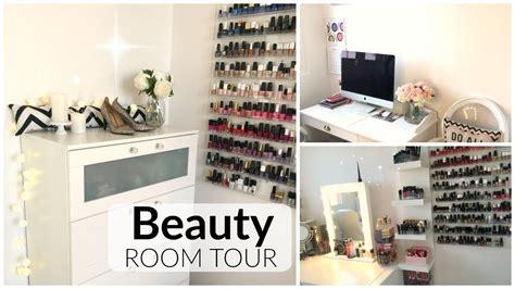Beauty Room Tour ? Déco bureau/pièce beauté   YouTube