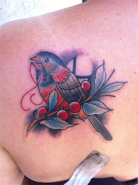 good times tattoo slc bird done by kyle at times in