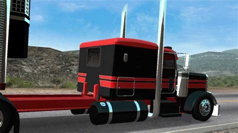 mod traffic game haulin 18 wheels of steel haulin chicken lights and chrome youtube