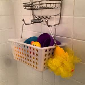 bathroom toy storage ideas basket shower caddy handy bath toy storage bathroom