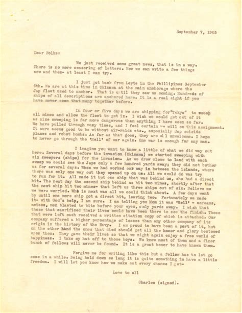 letter home september 7 1945 171 yms 299