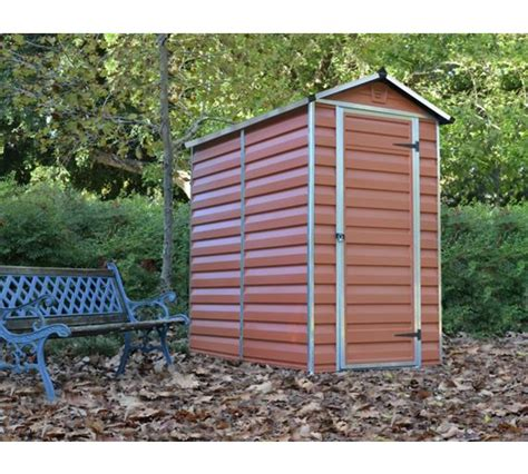 Buy Cheap Garden Shed by Buy Palram Skylight Plastic Shed 4x6ft At Argos Co Uk Your Shop For Sheds