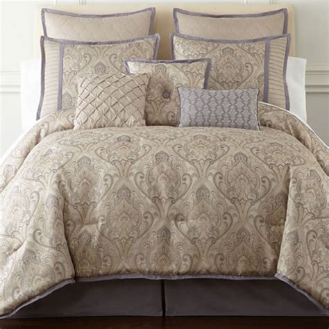 Jcpenney Bed In A Bag Sets Home Expressions Le Reine 7 Pc Comforter Set Jcpenney