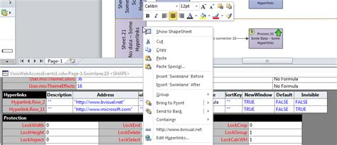 visio hyperlinks preparing for visio web access events bvisual