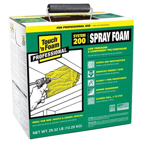 touch n foam 200 board foot polyurethane 2 component