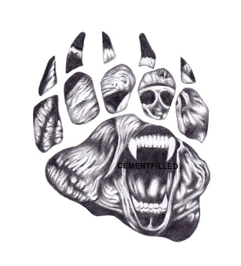 bear claw by cementfilled on deviantart