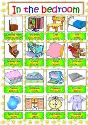 english exercises things in a house new and interesting things to do in the bedroom