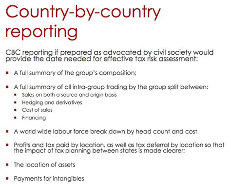 country by country reporting template oecd country by country reporting at the oecd mapping a path