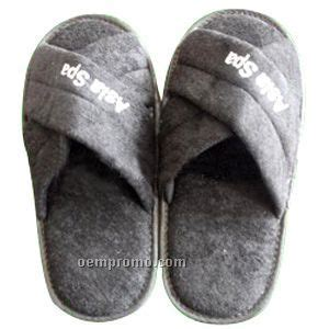 guest house slippers 11 1 2 quot closed toe cashmere chenille like slippers china wholesale 11 1 2 quot closed