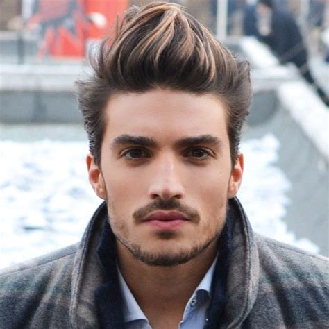 highlights for boys hair mariano di vaio dark brown with light blonde highlights
