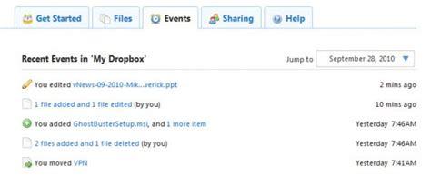 dropbox events which dropbox features makes me happy esx virtualization