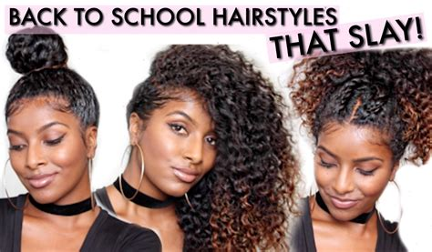 back to school hairstyles for relaxed hair going back to school might not always be fun but these