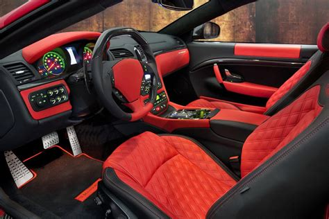 maserati sports car interior mansory tunes the maserati gran turismo coupe