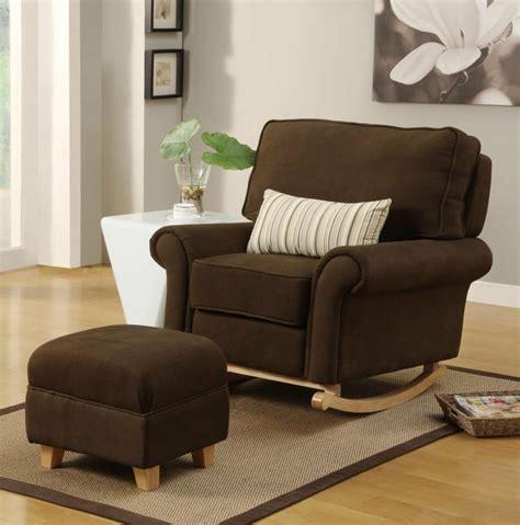 schaukelstuhl gepolstert schaukelstuhl als ein komfortables m 246 belst 252 ck
