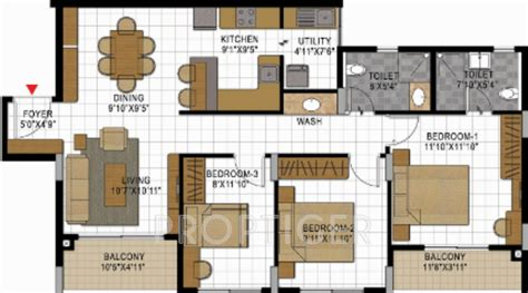 study room floor plan shalom in kr puram bangalore price location map floor plan reviews proptiger