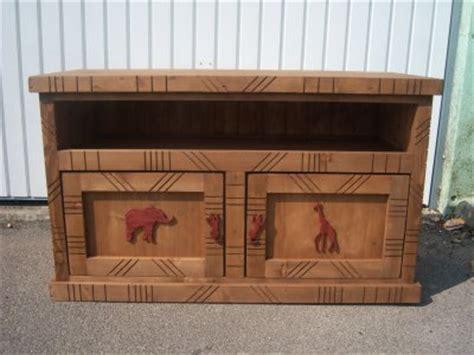 meuble tv africain de frederic cousin