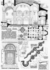 House With Floor Plans And Elevations characteristics of romanesque architecture ii