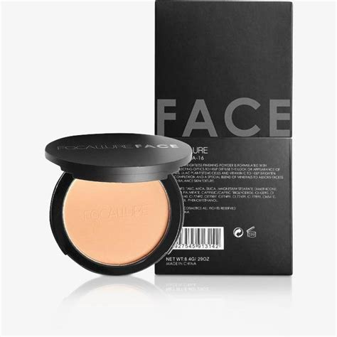 Focallure Pressed Powder focallure fabulous pressed makeup powder