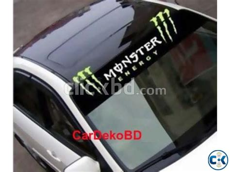 Sticker Frontglass Invisible car front glass sticker clickbd