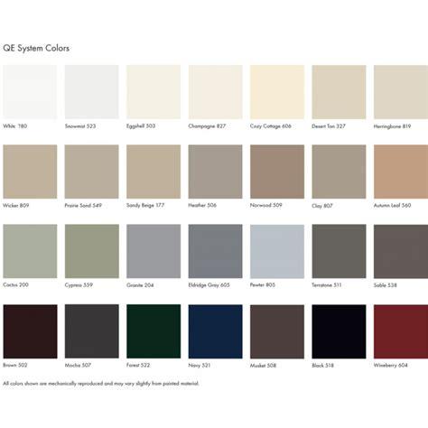 trim colors aluminum window january 2016