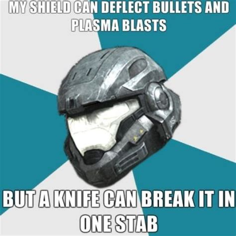 Halo Reach Memes - the pros cons of spartan armor video game awesomeness