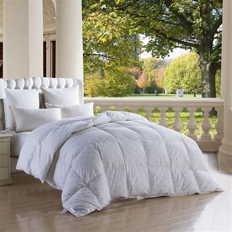 100 percent cotton filled comforters crown printing white goose down comforter 100 cotton