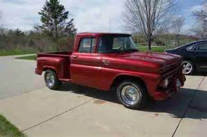 sell used 1962 chevrolet c10 stepside no reserve