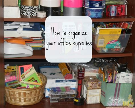 organizing your home office 29 easy home organization ideas tips mom 4 real