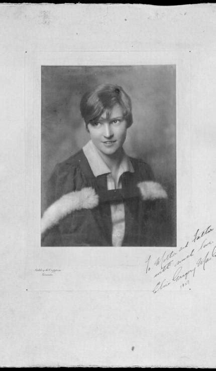 Elizabeth Muriel (dite « Elsie ») Gregory MacGill