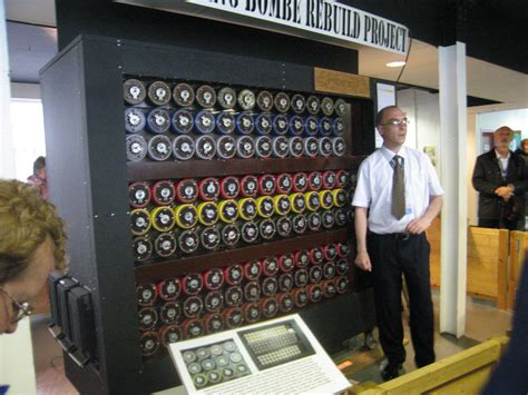 film breken enigma code recreation of alan turing s bombe machine that helped to
